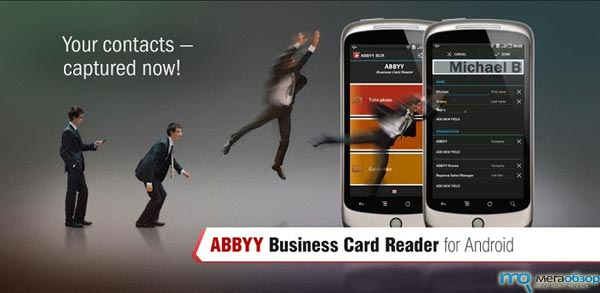 ABBYY Business Card Reader для Google Android