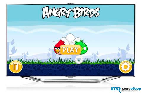 Angry Birds теперь и для телевизоров Samsung Smart TV