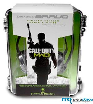 Turtle Beach Ear Force Bravo гарнитура в стиле Call of Duty: Modern Warfare 3