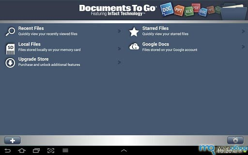 Documents to Go для Google Android