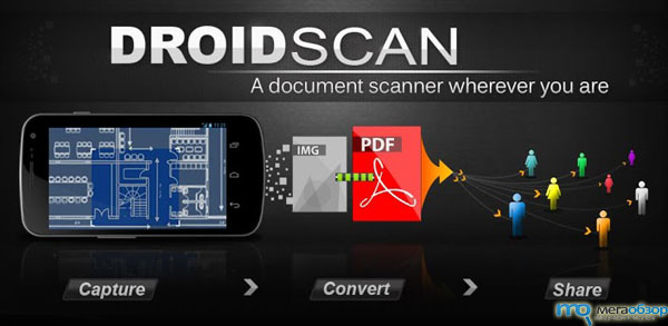 Droid Scan for PDF на Google Android