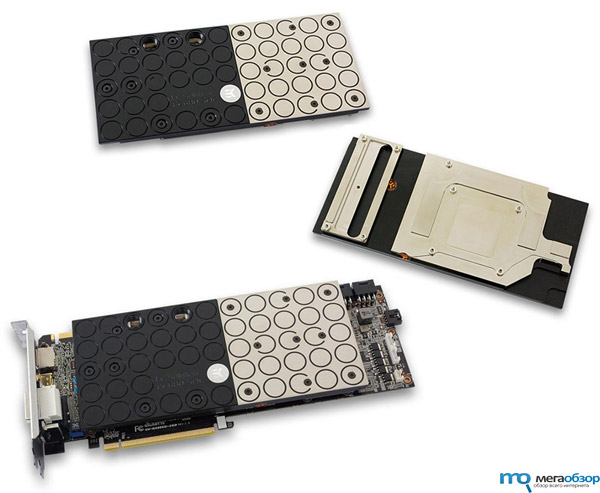 EK-FC680 GTX SOC водоблок для видеокарты GIGABYTE GeForce GTX 680 SOC