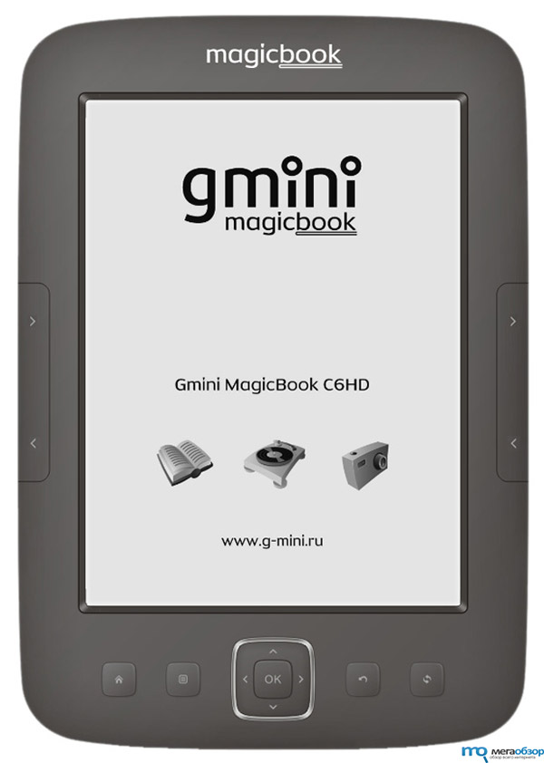Gmini MagicBook C6HD ридер с экраном E-Ink HD Pearl