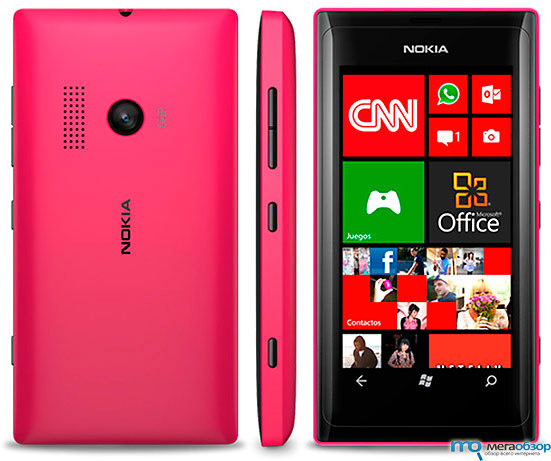 Бюджетный Nokia Lumia 505 на базе Windows Phone 7.8