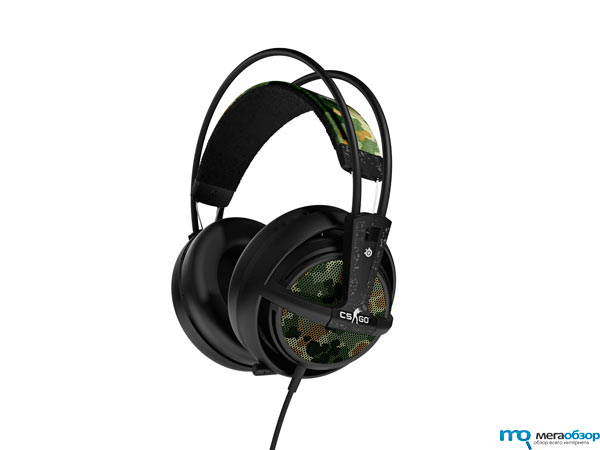 SteelSeries Siberia v2 Counter-Strike: Global Offensive Headset тематическая гарнитура