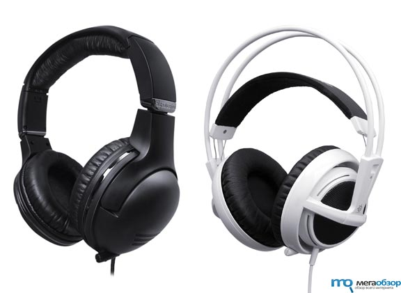 Гарнитуры SteelSeries Siberia V2 и 7H для iPod, iPhone и iPad