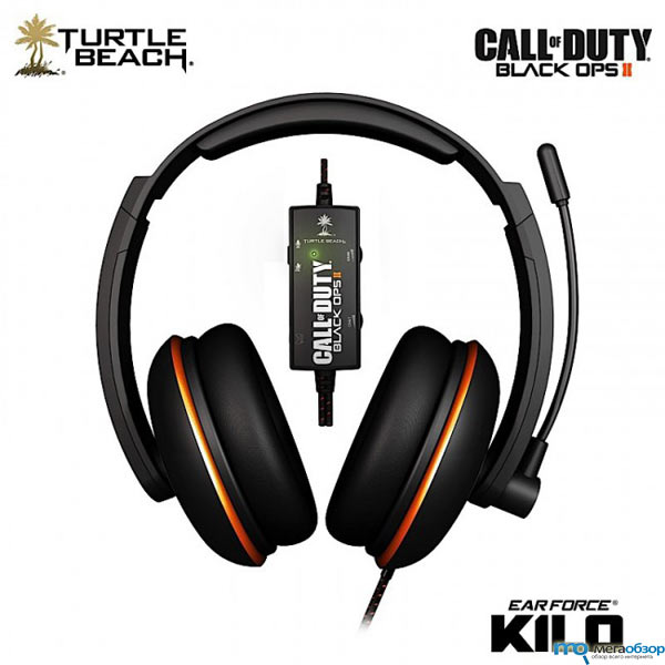 Turtle Beach Ear Ear Force Tango, Sierra, X-Ray и Kilo наушники к выходу Call of Duty: Black Ops II