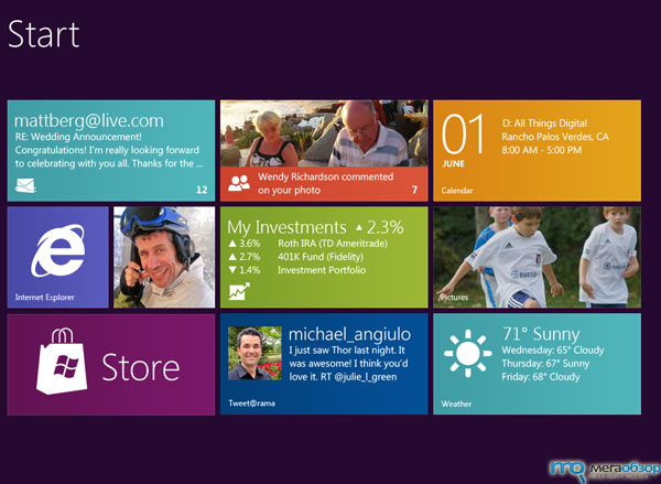 Блоки Windows 8 ожили в Норвегии